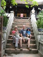 Family - One Pillar Pagoda
